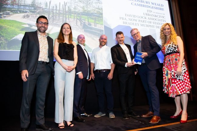 2019 Planning Awards - Alconbury Weald, winner of the best mixed-use development category